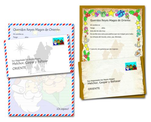 Magica Navidad Cartas Reales