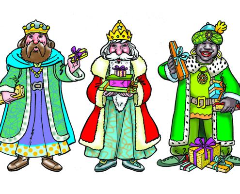 Magica Navidad Figuras Reales