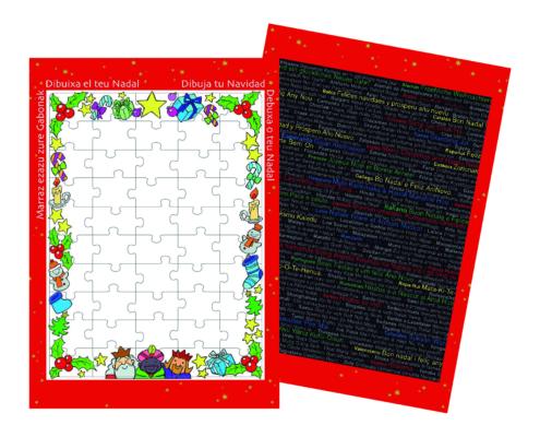 Magica Navidad Puzzle Navideño